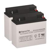Merits P1201-TRMU Wheelchair Batteries (Replacement)