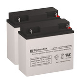 Merits Travel-Ease Regal P12011-TRMU Wheelchair Batteries (Replacement)