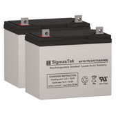 Replacement Batteries for Permobil® Chairman™ Entra™ Stander Jr. Wheelchair