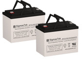 CTM HS-1000 Wheelchair Batteries (Replacement)