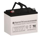 Tru-Test 6-1036E5 Lawn Mower Battery (Replacement)