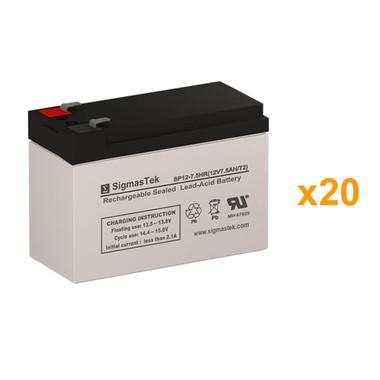 OPTI-UPS DS8KB31 UPS Battery Set (Replacement)