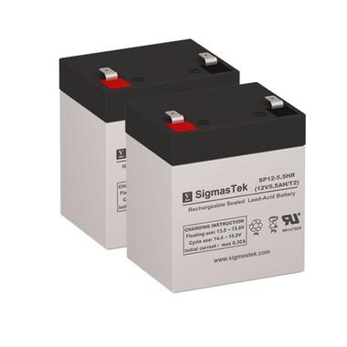 OPTI-UPS PS500B UPS Battery Set (Replacement)