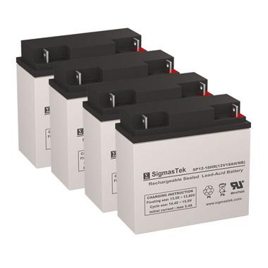 Alpha Technologies CFR 2000E (017-072-XX) UPS Battery Set (Replacement)