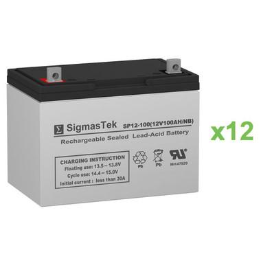 Alpha Technologies EBP 1275-48B (032-045-XX) UPS Battery Set (Replacement)