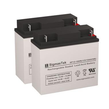 Alpha Technologies Nexsys 600E UPS Battery Set (Replacement)