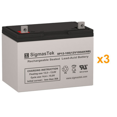 Alpha Technologies BP 3100-36 UPS Battery Set (Replacement)