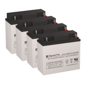 Deltec PRA 2000 UPS Battery Set (Replacement)