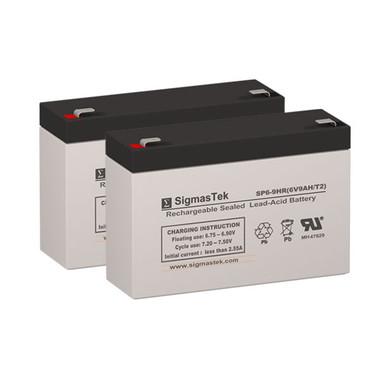 MGE Pulsar Evolution 500 Rack UPS Battery Set (Replacement)