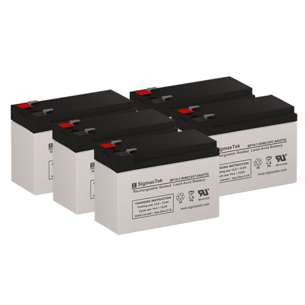 Set of 2 Para Systems Minuteman A500 UPS Replacement Batteries