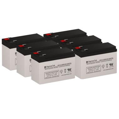 PCM Powercom Vanguard 2000VA Rackmount UPS Battery Set (Replacement)