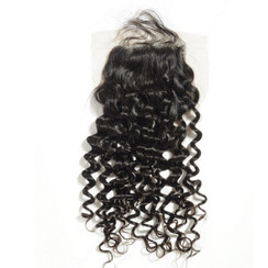 Brazilian Spiral Curly Lace Closure