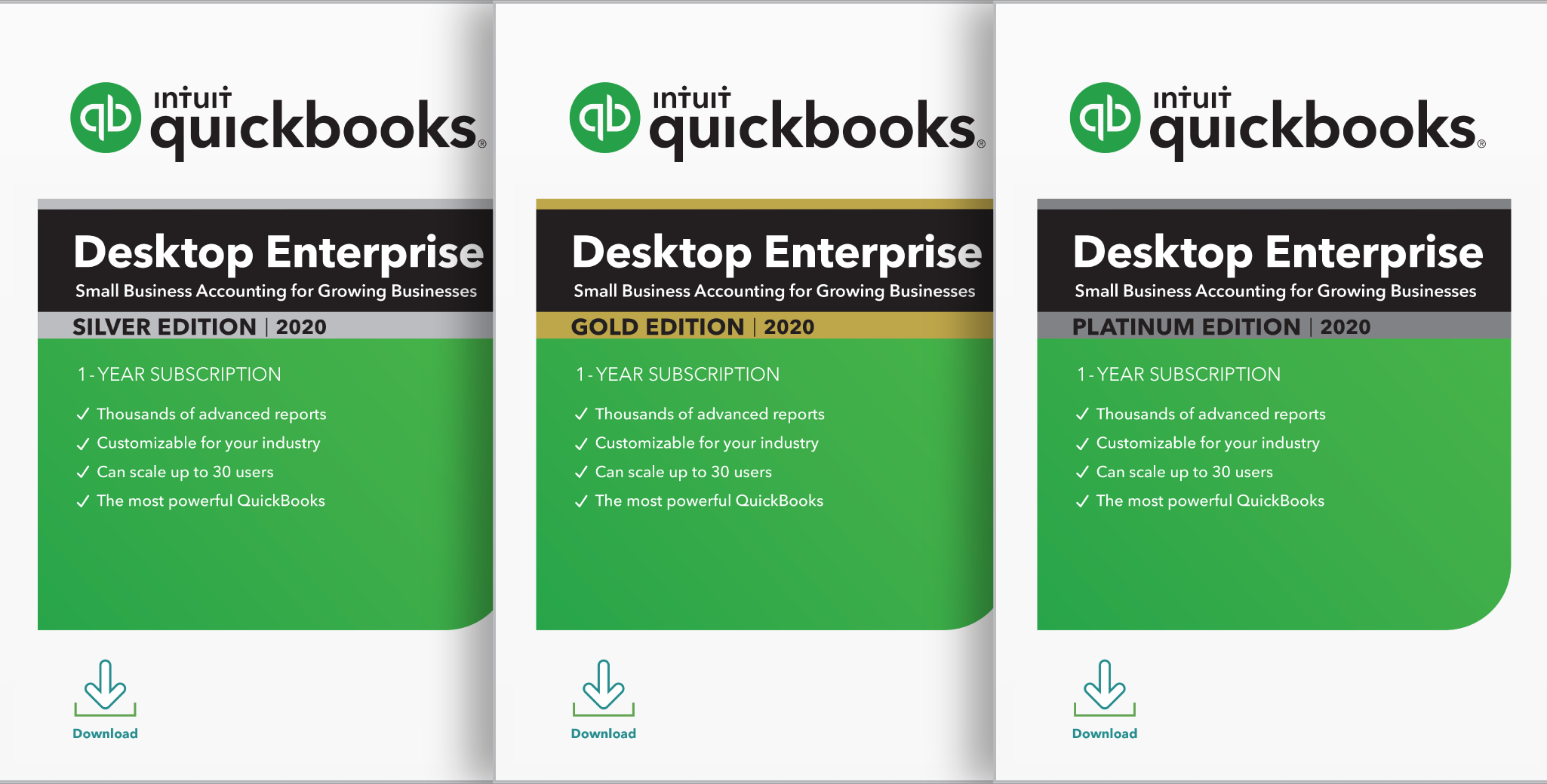 quickbooks accounting software slide
