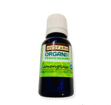 Pure Organic Lemongrass Essential Oil