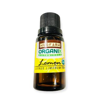 Organic USDA Lemon Essential Oil