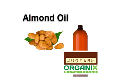 Sweet Almond Carrier Oil. Sweet almond oil is obtained from the dried kernel of the almond tree. The appearance of our refined almond oil is a clear light yellow liquid. It is considered a lightweight oil which is known to be rich in vitamin A, E, and B as well as Oleic (C18:1) and Linoleic (C18:2) essential fatty acids.
