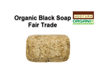 Organic Coconut Oil Black Soap - Fair Trade  NO PALM OIL 100% VEGAN