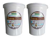 Pure Organic Cold Pressed Virgin Cocoa Butter from South America and Ghana Africa. Raw and 100% Natural