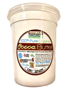 Pure Cold Pressed Cocoa Butter