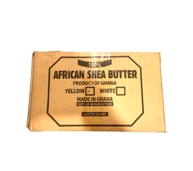 Yellow Shea Butter - 100% Raw Unrefined from Ghana, African. Use it daily for pure and natural skin. Use to make and start your own Shea Butter and beauty business.