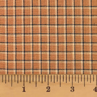 Antique Mustard Homespun Cotton Fabric