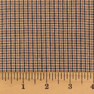 Walnut Brown Homespun Fabric