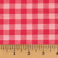 Pink Mini Buffalo Homespun Cotton Fabric