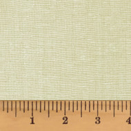 Ecru Solid Homespun Cotton Fabric