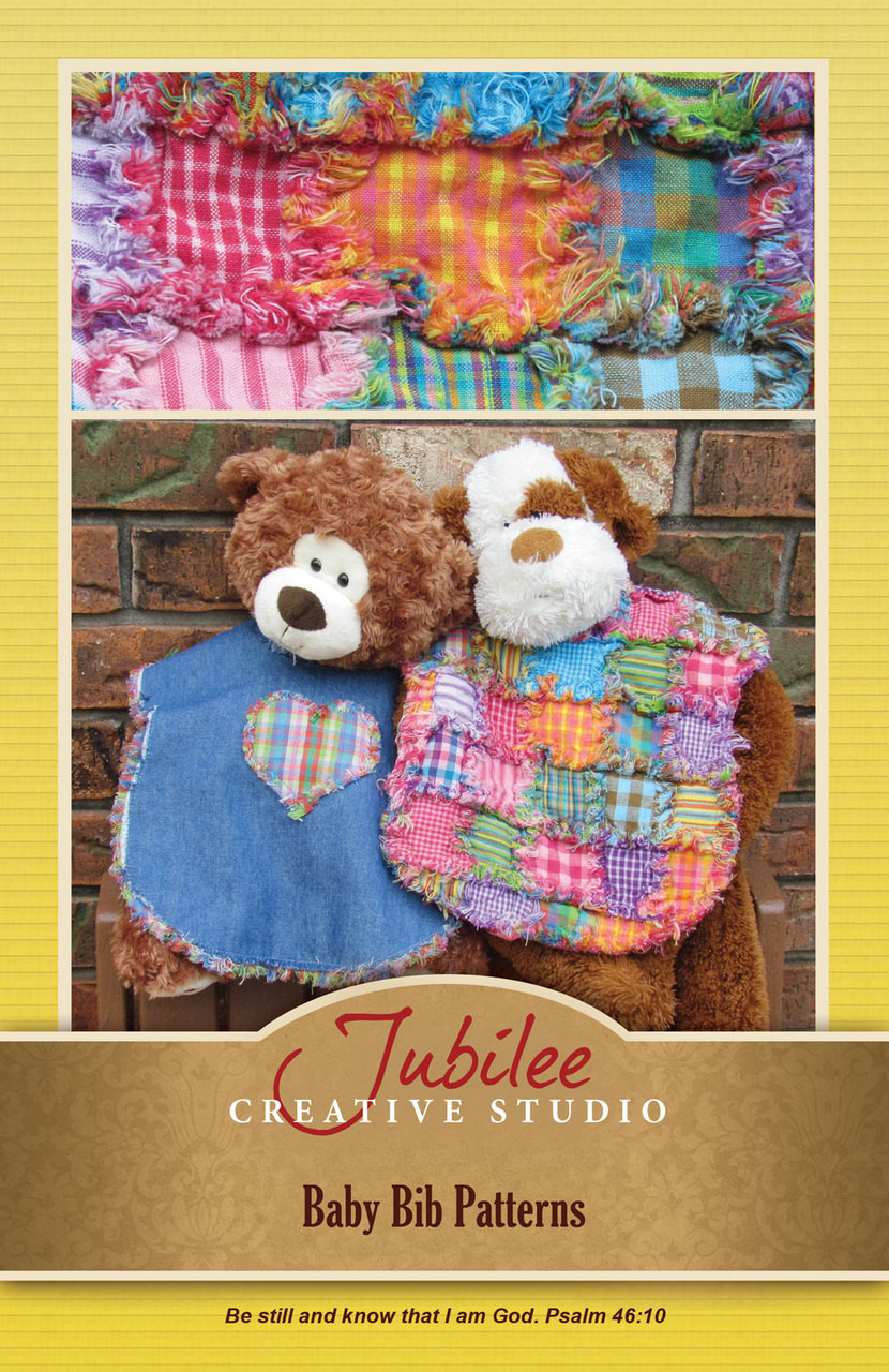Patches For Pete Ragged Baby Bib Pattern Digital Jubilee Fabric