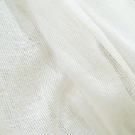 10 Yards White Tobacco Cloth Cotton Fabric - Lightweight