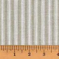 Magnolia Gray Stripe Homespun Cotton Fabric