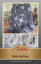 Medallion Rag Quilt Pattern - DIGITAL
