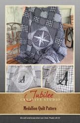 Medallion Rag Quilt Pattern - DIGITAL
