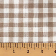 Oatmeal Mini Buffalo Homespun Cotton Fabric