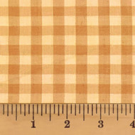Honey Mini Buffalo Homespun Cotton Fabric