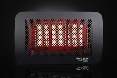 Bromic Tungsten 300 Gas Heater, Propane, Front View