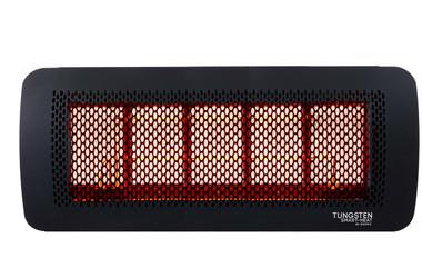 Bromic Tungsten 500 Gas Heater, Propane, Front View