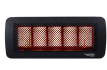Bromic Tungsten Smart-Heat 5 Burner Radiant Gas Heater, Propane, Front View