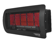 Bromic Tungsten 500 Gas Heater, Natural Gas, Quarter Angle
