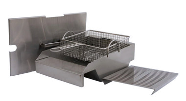 "Steamer/Fryer for 30"", 36"", 42"" and 56"" Solaire Grills"