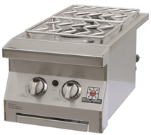 Double Built-In Side Burner