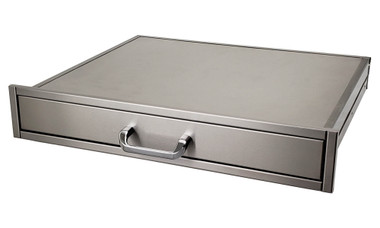 """Solaire Single Utility Drawer, 23"""" depth"""