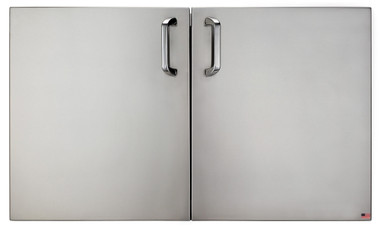 "Solaire 36"" Stand-Off Access Doors for Outdoor Kitchens"