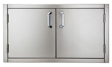 "Solaire 36"" Flush Mount Double Doors, Item #SOL-FMD-36"