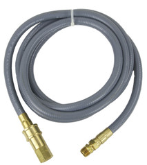 "1/2"" x 12 Foot Q.D. Flexible Hose - 160M BTU capacity"