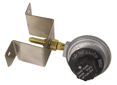 Regulator/Valve/Bracket for Solaire Anywhere model IR17A (old style grill with folding legs)