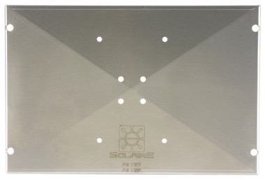 Mounting Plate for Solaire Anywhere and AllAbout Single Tripod, Top Down View