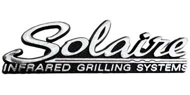 Solaire Die Cast Logo, front view