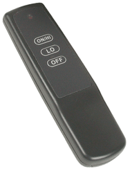 Rasmussen Remote Control for RMC1E & RE Systems, Item #STR-RMD