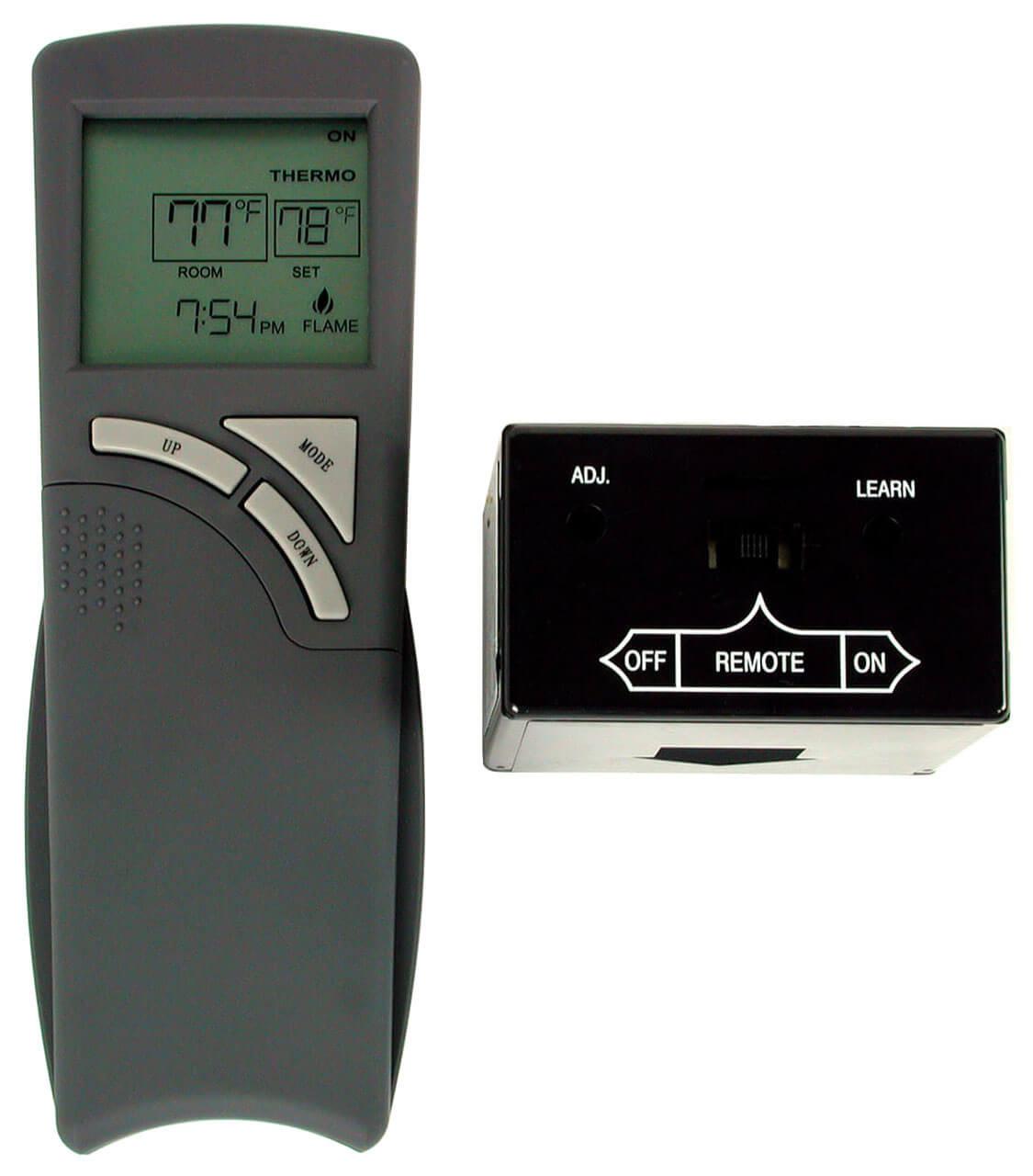 THR-2R Rasmussen Wireless Thermostat Firepalce Remote Control ...